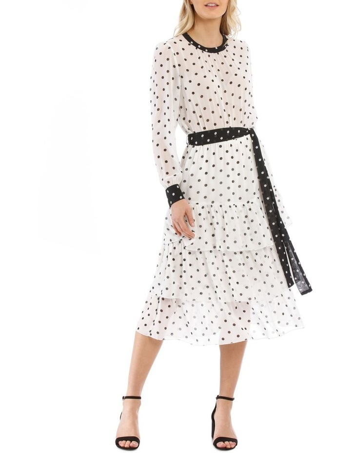 Tiered Spotted Dress image 1