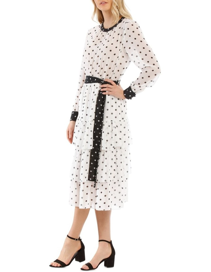 Tiered Spotted Dress image 2