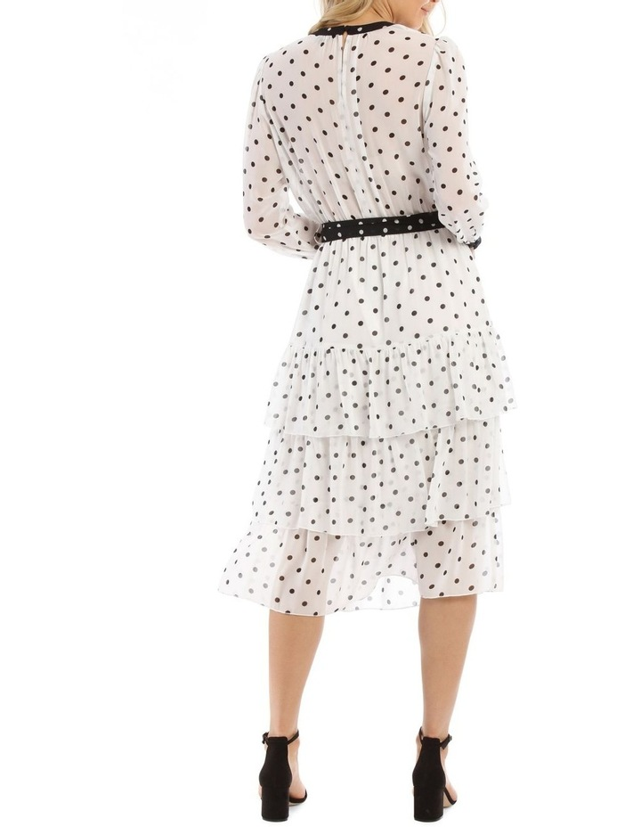 Tiered Spotted Dress image 3