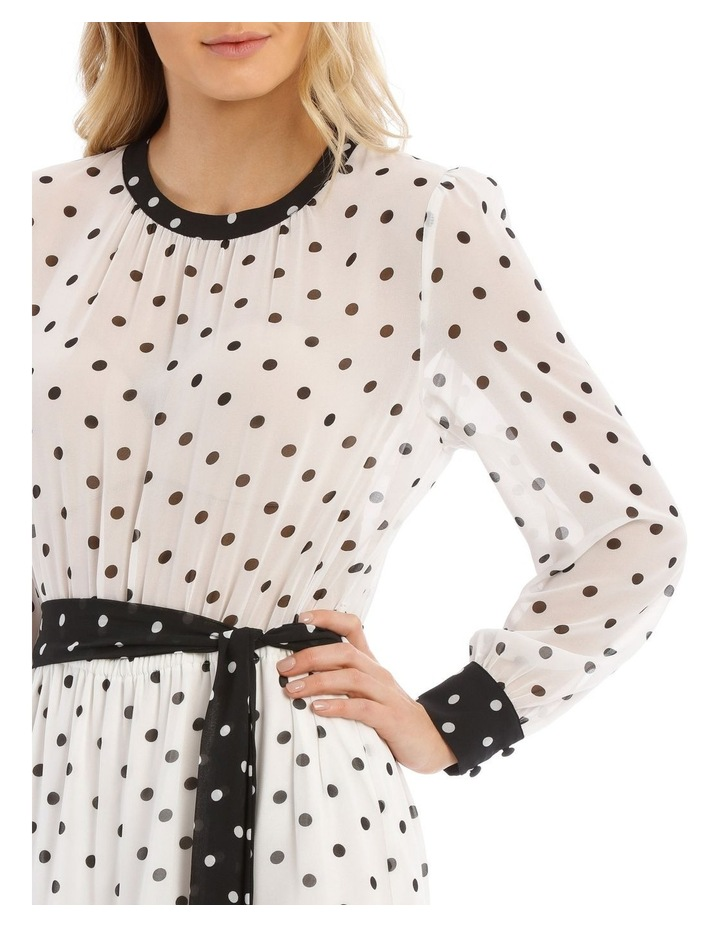 Tiered Spotted Dress image 4