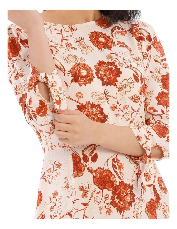 Long Sleeve Placement Dress image 4