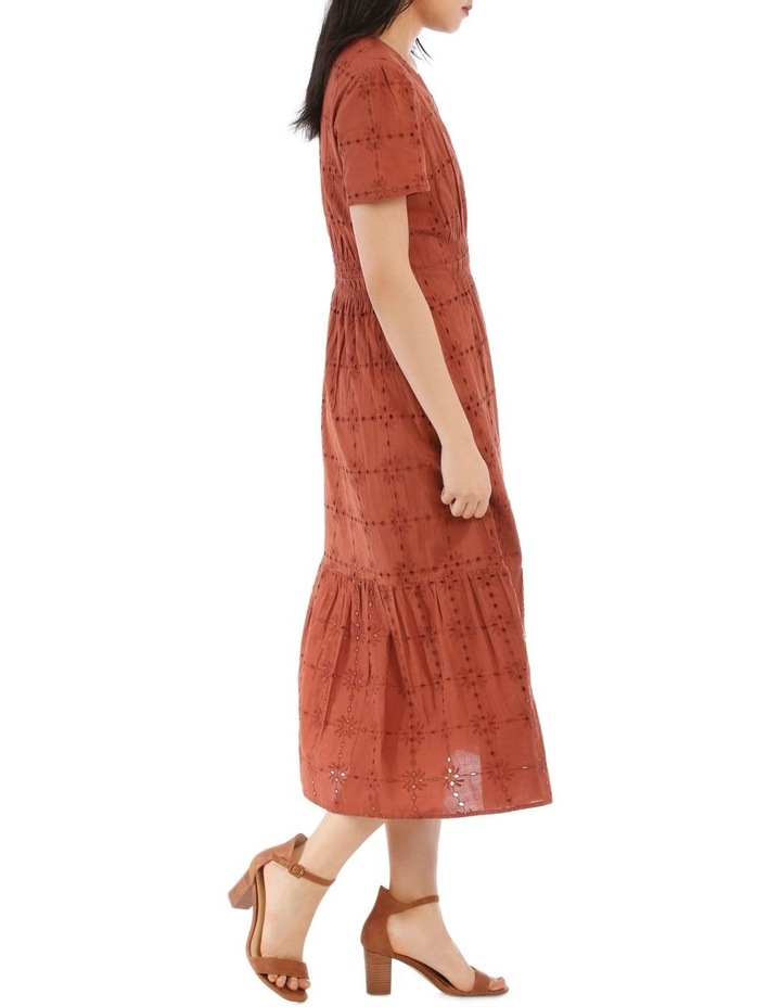 Broderie Short Sleeve Dress image 2