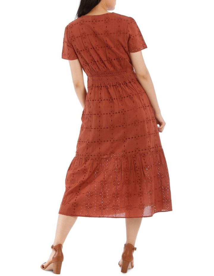 Broderie Short Sleeve Dress image 3