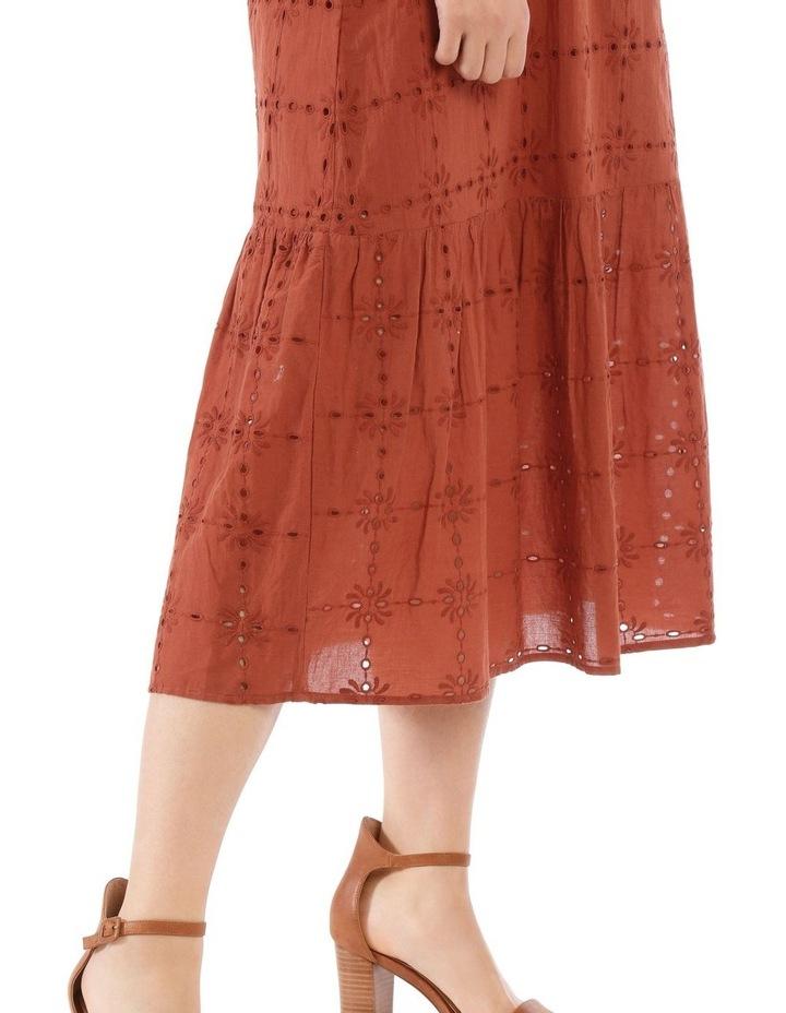 Broderie Short Sleeve Dress image 4