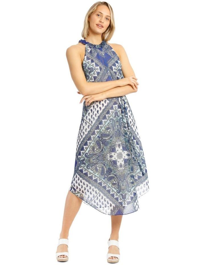Halter Neck Maxi Dress image 1
