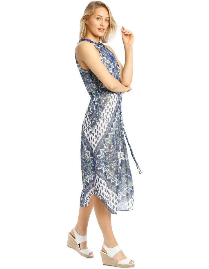 Halter Neck Maxi Dress image 2