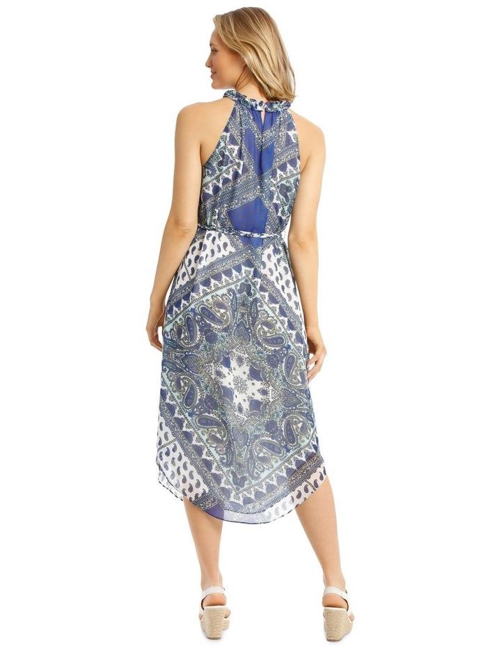 Halter Neck Maxi Dress image 3