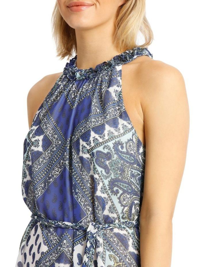 Halter Neck Maxi Dress image 4