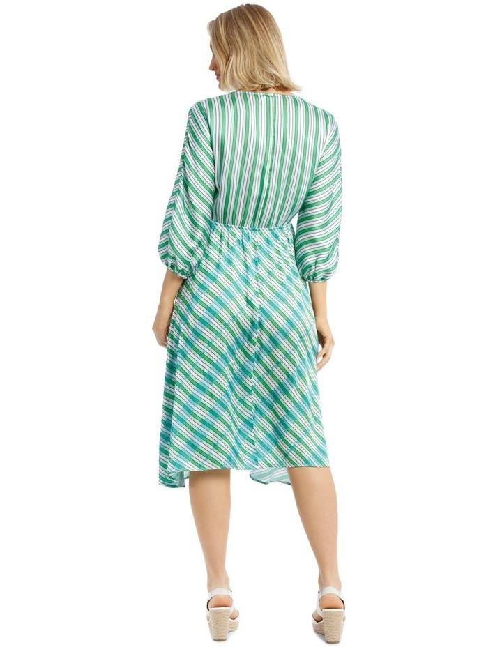 Multi Stripe Bias Cut Dress image 3