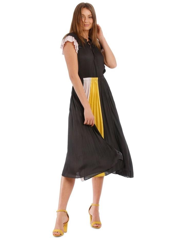 Pleated Spliced Dress image 1