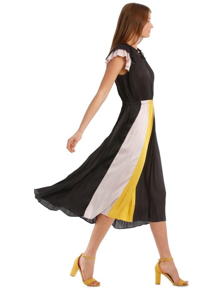 Pleated Spliced Dress image 2