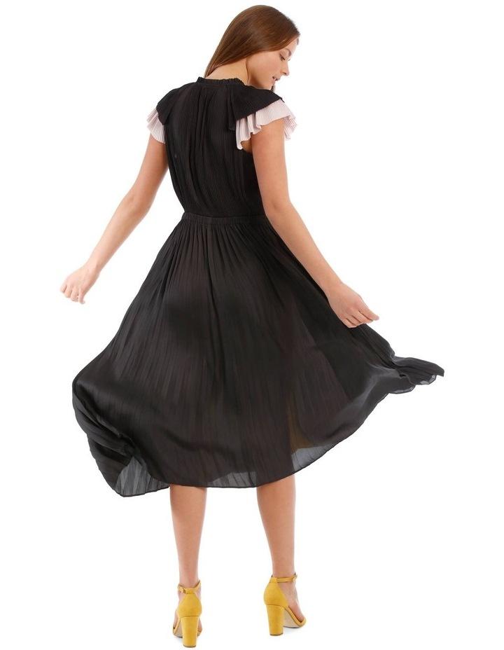 Pleated Spliced Dress image 3