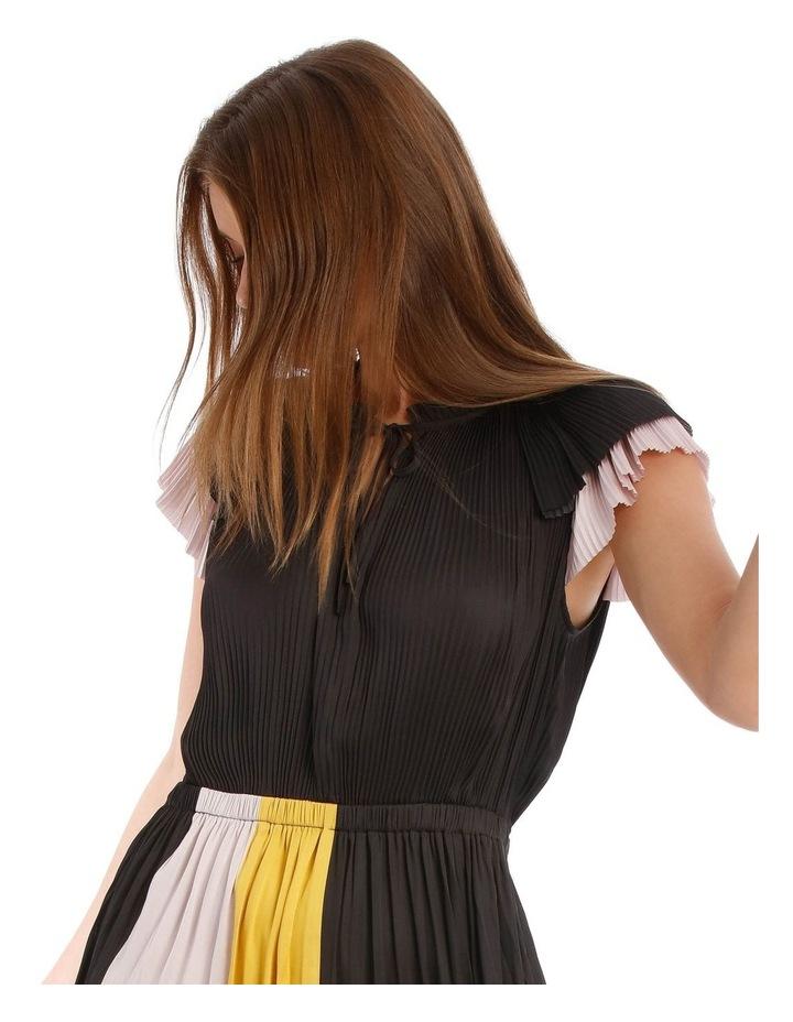 Pleated Spliced Dress image 4
