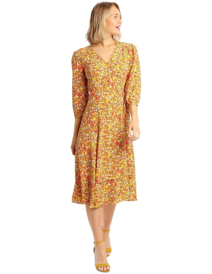 Printed Wrap Dress image 1