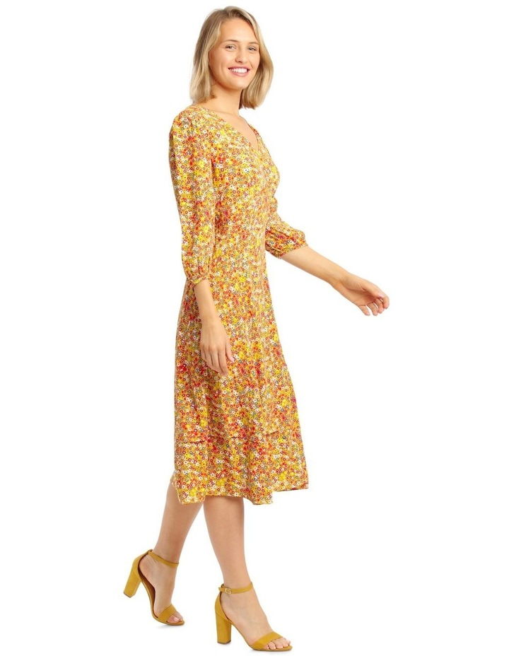 Printed Wrap Dress image 2