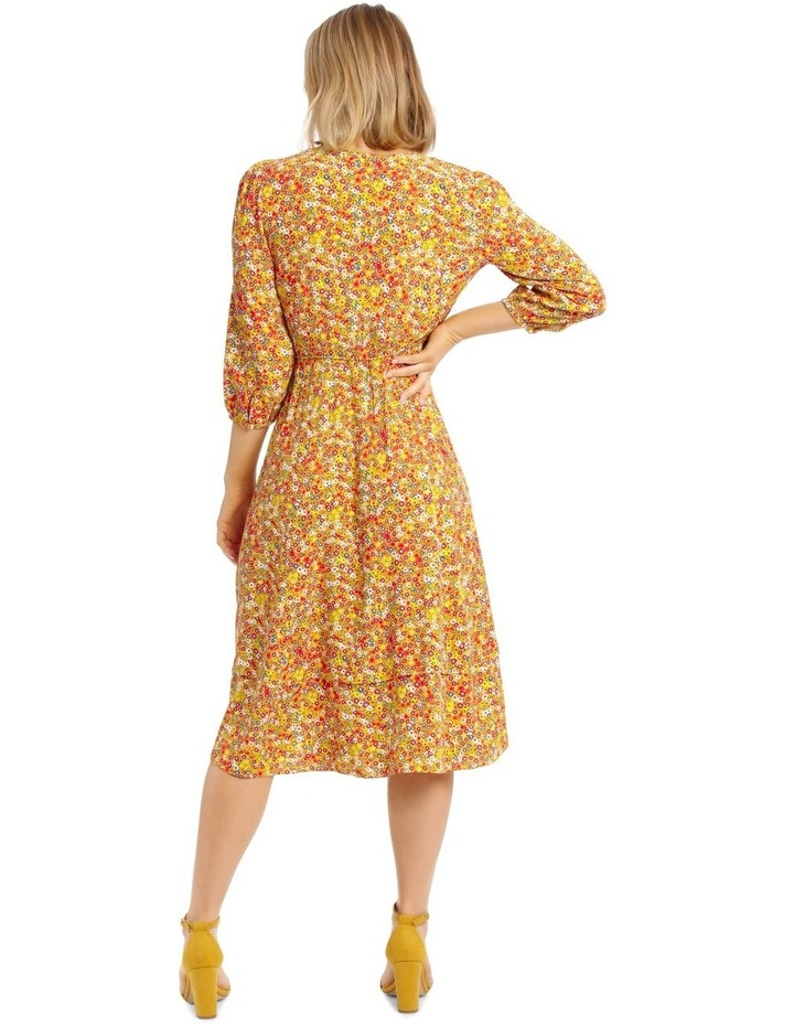 Printed Wrap Dress image 3