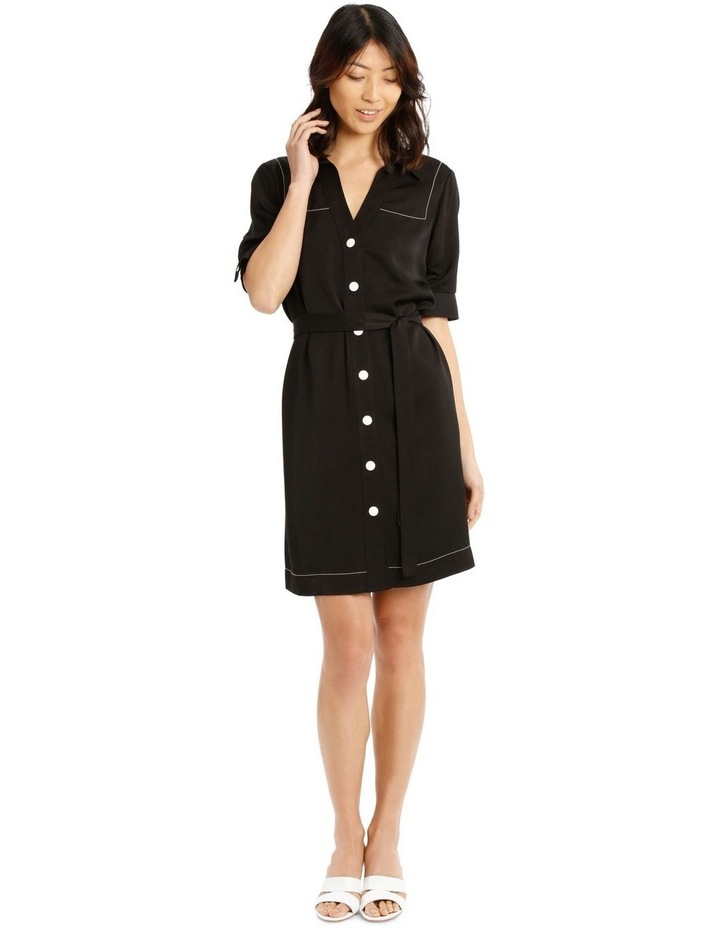Shirt Dress with Belt image 1