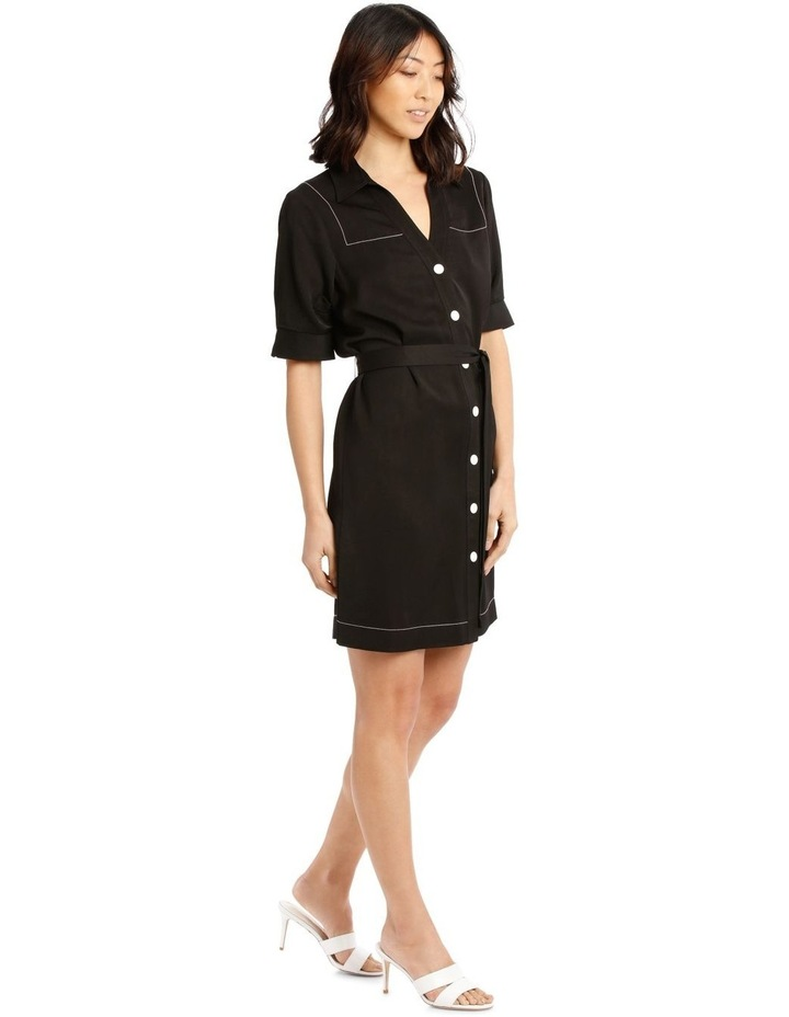 Shirt Dress with Belt image 2