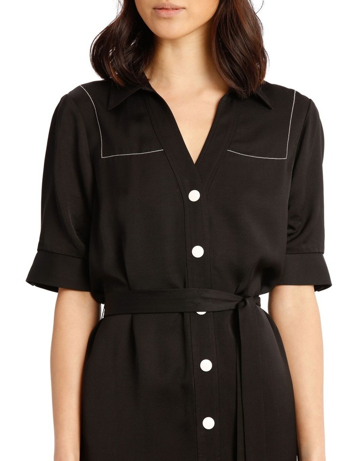 Shirt Dress with Belt image 4