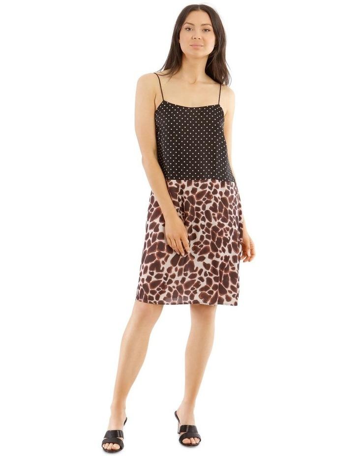 Spliced Slip Dress image 1