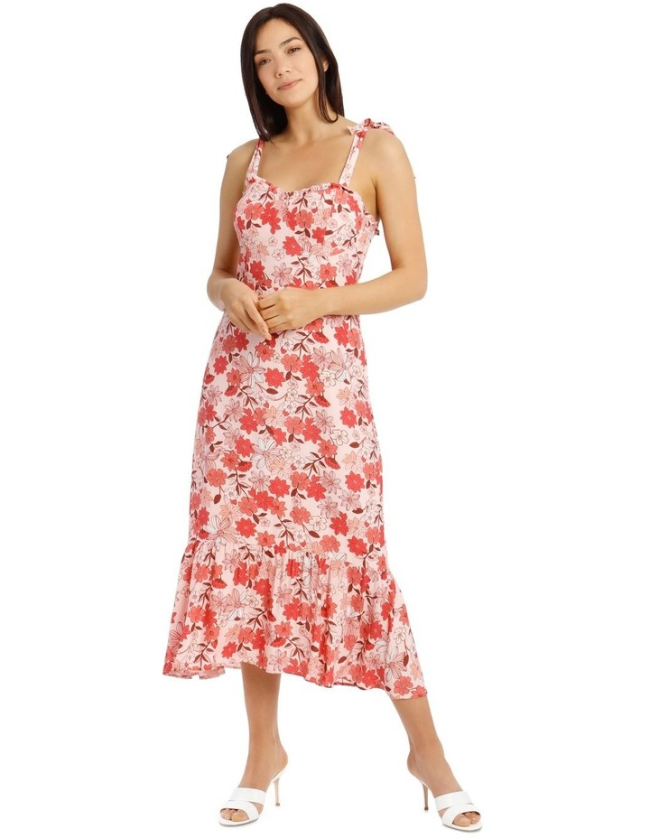 Dress With Frill Straps - Light Pink image 1