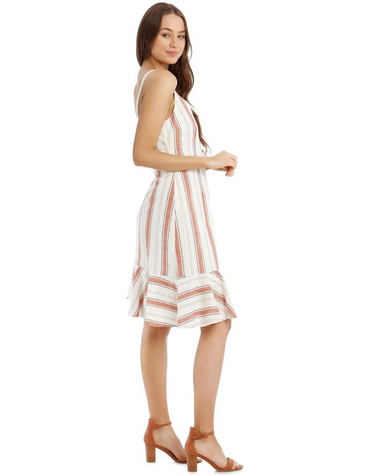 Fluted Hem Dress Yarn Dye image 2