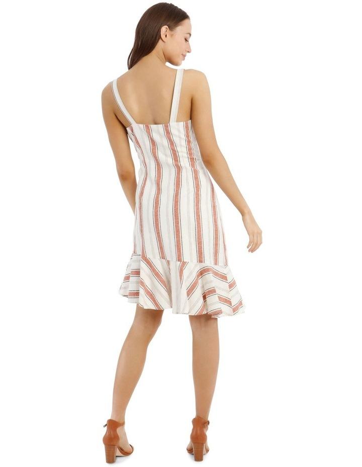 Fluted Hem Dress Yarn Dye image 3