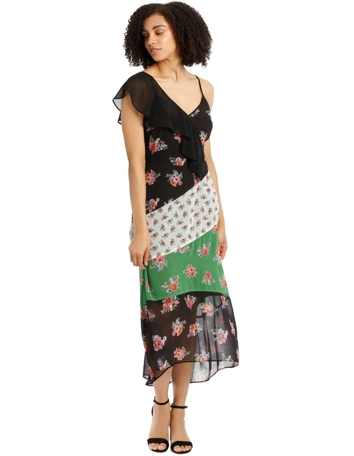 Dress Spliced One Shoulder image 1