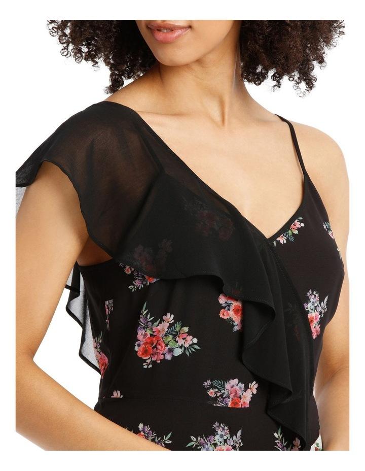 Dress Spliced One Shoulder image 4