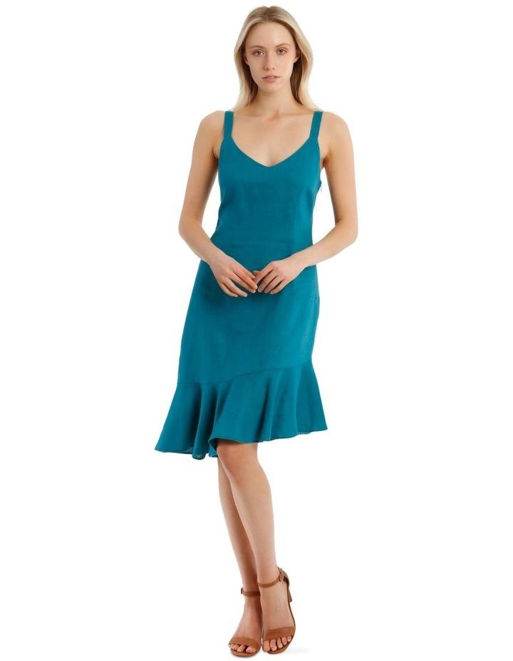 Fluted Hem Dress image 1