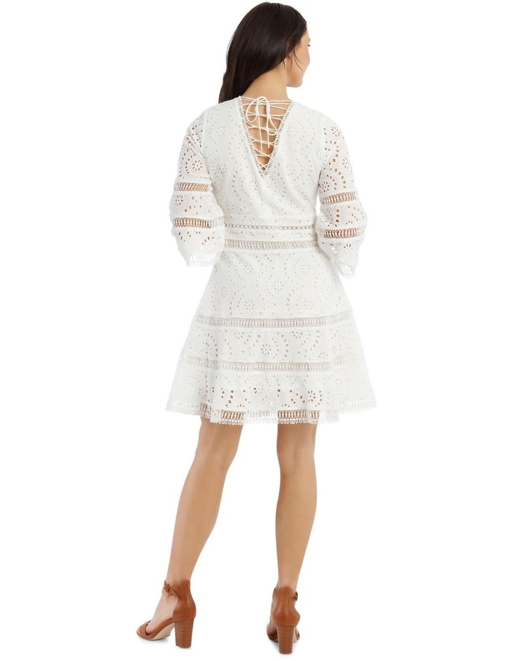 Broderie Dress With Back Detail image 3