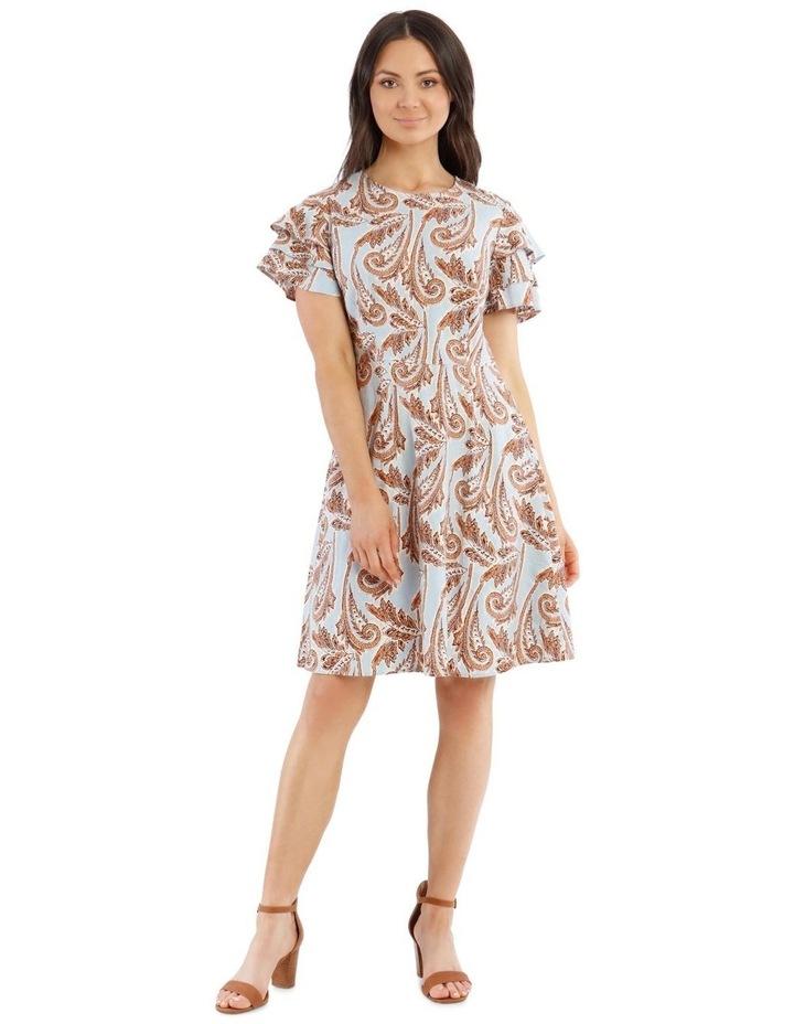 Paisley Printed Dress image 1