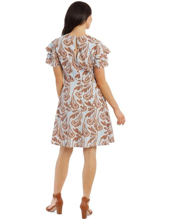 Paisley Printed Dress image 3