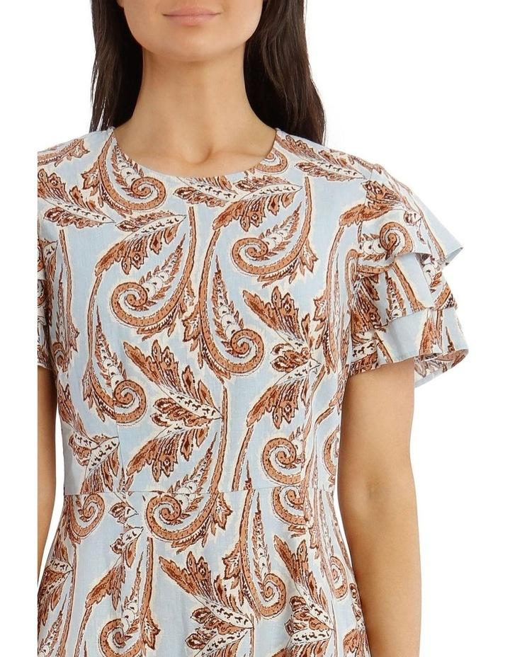 Paisley Printed Dress image 4