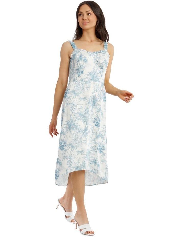 Toile De Jour Print Slip Dress image 2