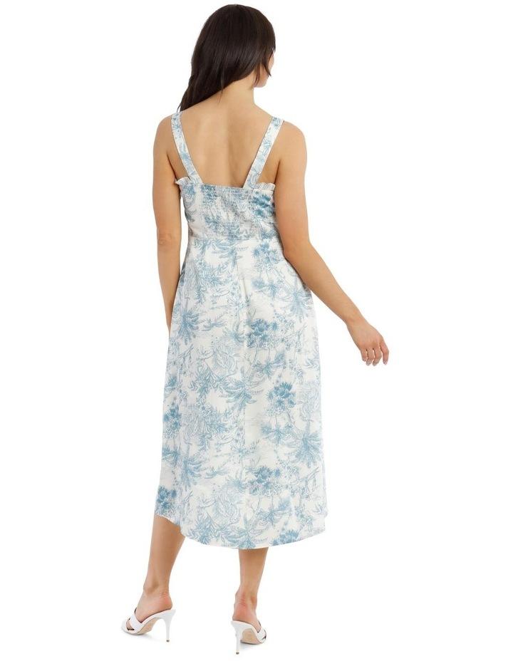 Toile De Jour Print Slip Dress image 3