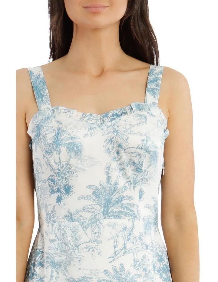 Toile De Jour Print Slip Dress image 4