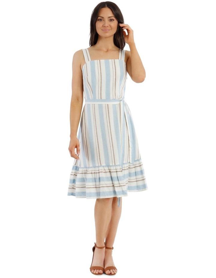 Stripe Linen Cotton Dress image 1