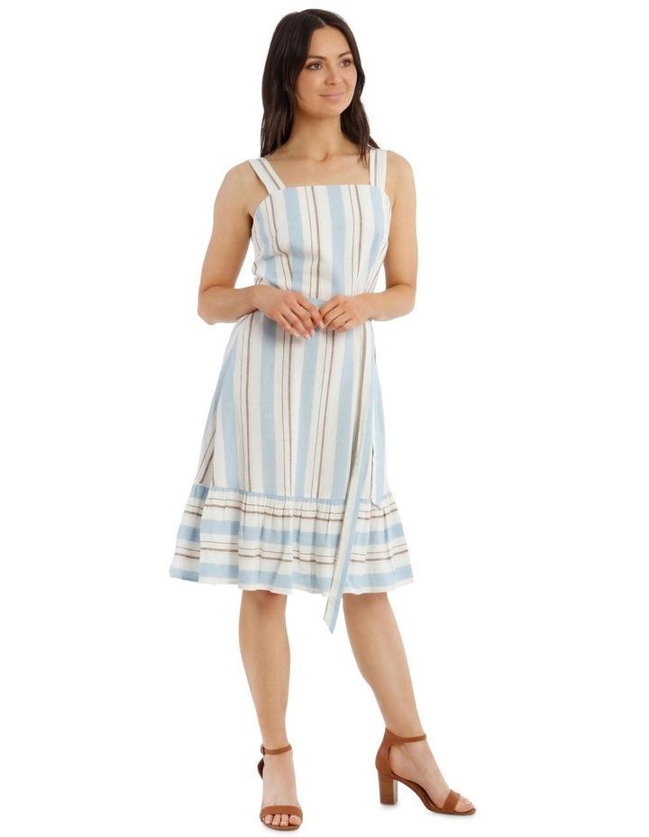 Stripe Linen Cotton Dress image 2