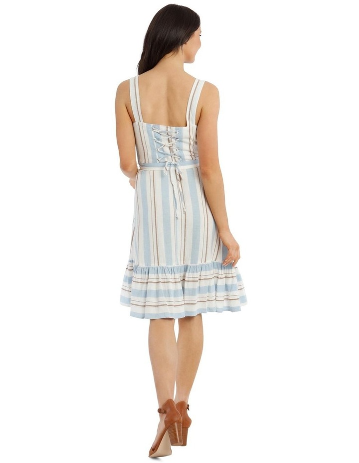 Stripe Linen Cotton Dress image 3