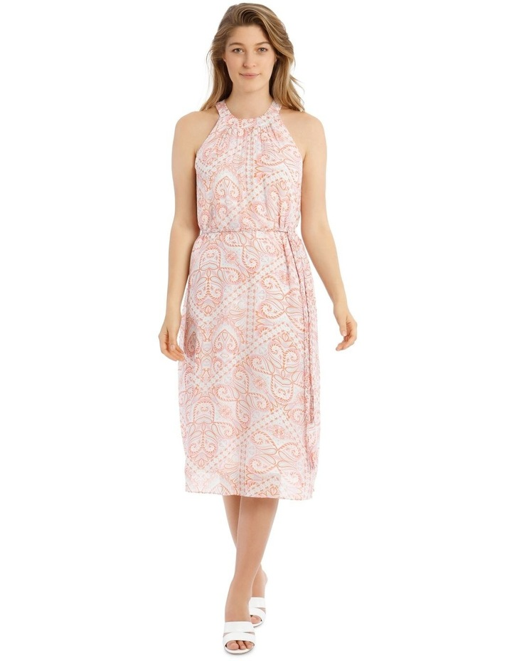 Printed Paisley Slip Dress image 1