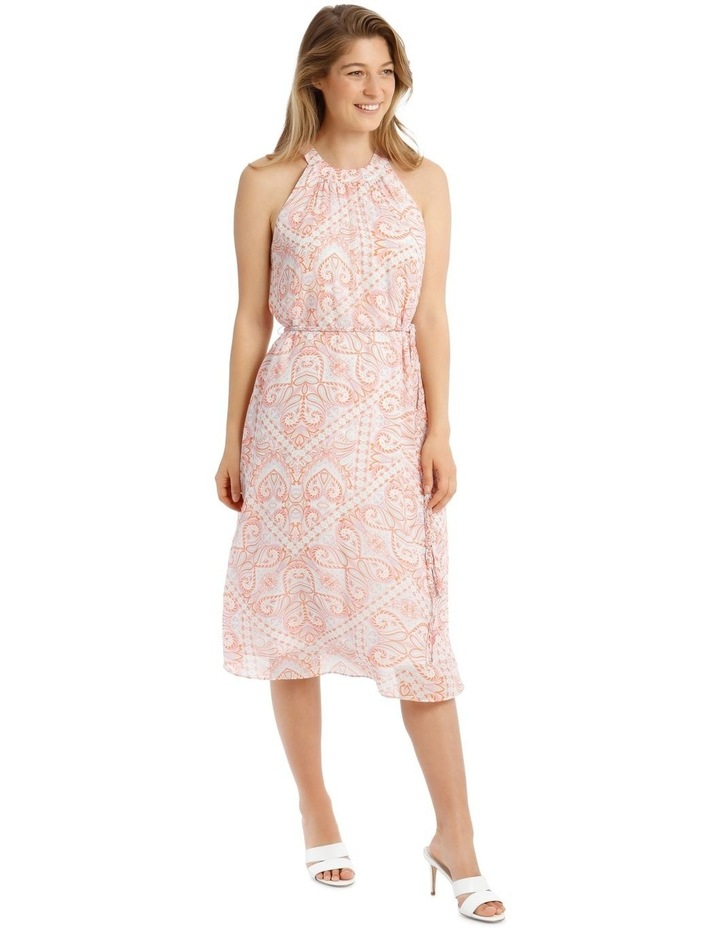 Printed Paisley Slip Dress image 2