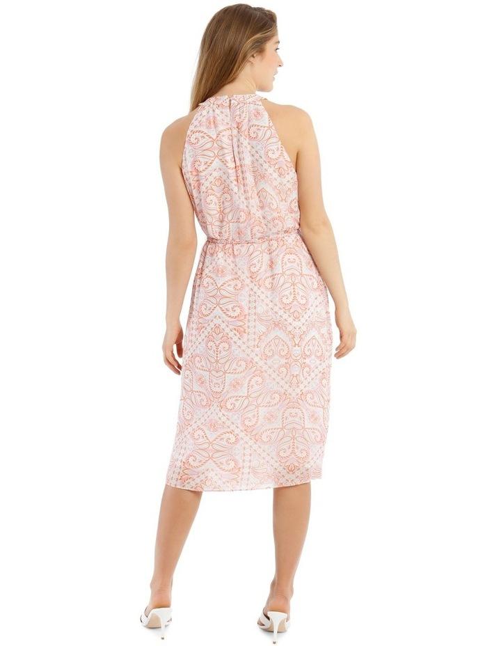 Printed Paisley Slip Dress image 3