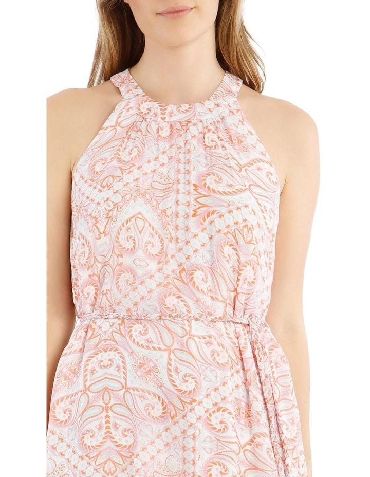 Printed Paisley Slip Dress image 4