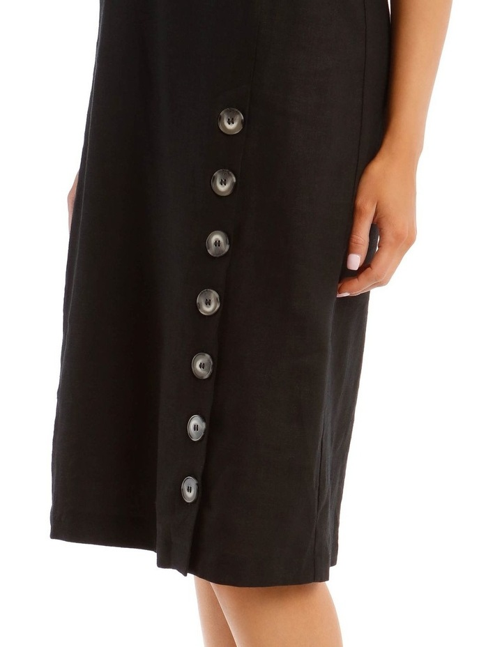 Dress with Button Detail image 4