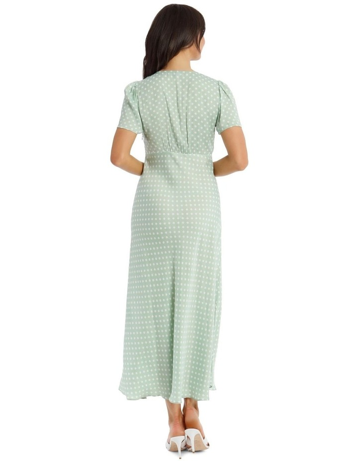 Spotted Cap Sleeve Dress image 3