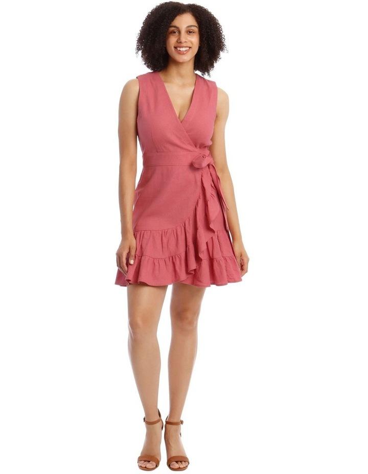 Ruffle Wrap Dress image 1
