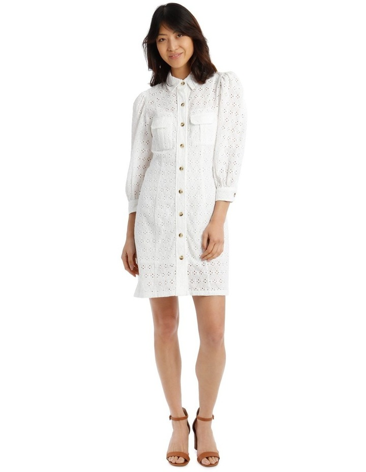 Broderie Shirt Style Dress image 1