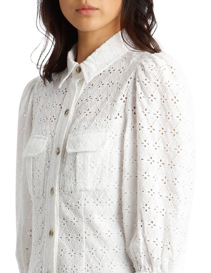Broderie Shirt Style Dress image 4