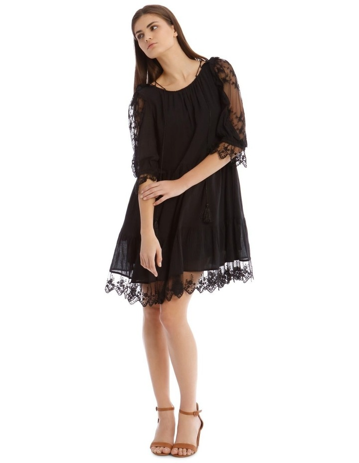 Short Sleeve Lace Dress image 1